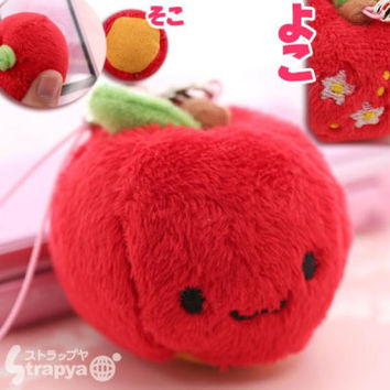 Ringo Chan Plush Doll Cleaner Phone Strap