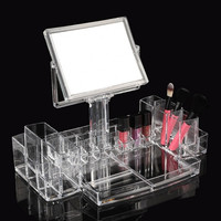 Cosmetics Organizer Women Ladies Makeup  Transparent  Clear Acrylic Box Storage
