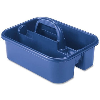 "akro-mils tote caddy, 13-3/4""x18-1/4""x8-3/4"", blue Case of 2"