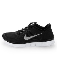 Nike Free Run+3 Womens Running Shoes 510643-002 Black 6.5 M US