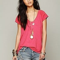Free People  Delhi Craft Shoulder Top at Free People Clothing Boutique