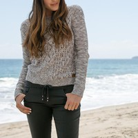 ELEMENT - After Party Sweater | Heather Grey