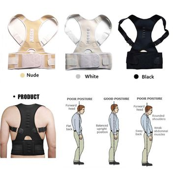 Magnetic Therapy Posture Corrector Belt for Men & Women