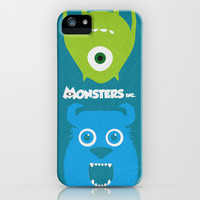 Monsters Inc - Minimalist Poster 05 iPhone & iPod Case by Misery