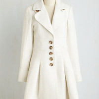 Vintage Inspired Long Heart and Solstice Coat