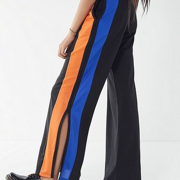 The Ragged Priest Fazer Striped Split-Leg Pant | Urban Outfitters