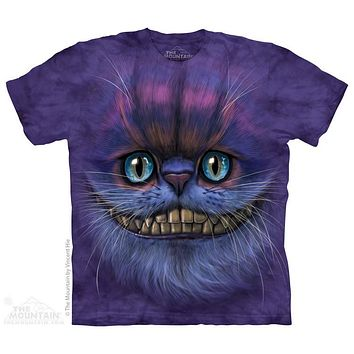 Big Face Cheshire Cat Kids T-Shirt