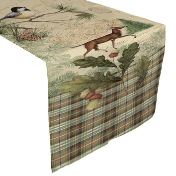 Woodland Forest Table Runner