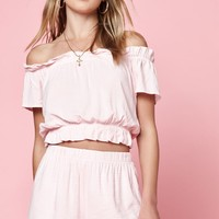 Lottie Moss Tie Back Off-The-Shoulder Top at PacSun.com