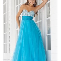 Holy Sweetheart Sequined Princess Blue Prom Dress In 2014 - Udreambuy.com