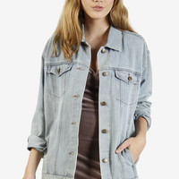 Oversized Denim Jacket - One Size / Denim
