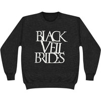 Black Veil Brides Men's  Logo Sweatshirt Black Rockabilia