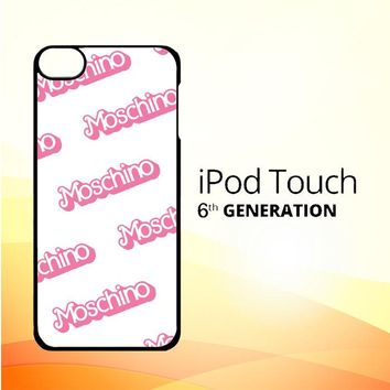 moschino pattern Z5297 iPod Touch 6 Case