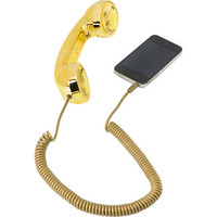 Native Union POP Retro Phone Handset in Gold