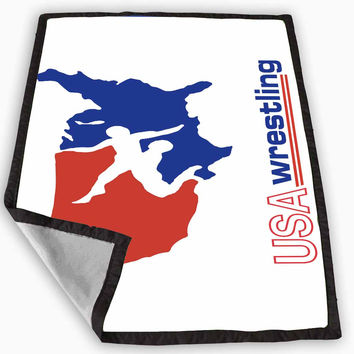 Wrestling Blanket for Kids Blanket, Fleece Blanket Cute and Awesome Blanket for your bedding, Blanket fleece *
