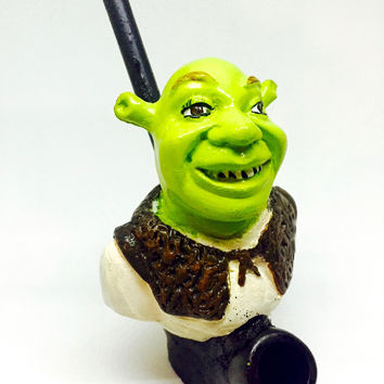 Resin Pipe - Shrek