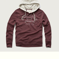Logo Graphic Contrast Hoodie