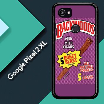 Backwoods Honey Berry Cigars L2091 Google Pixel 2 XL Custom Case