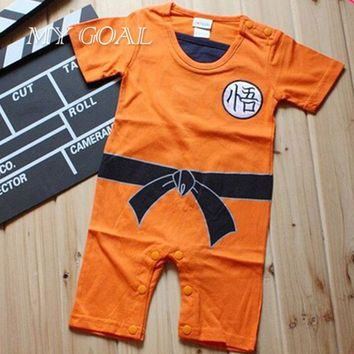 Dragon Ball Baby Rompers Newborn Baby Boy Clothes Infant Toddler Bebe Jumpsuit Halloween Costumes For Baby Boy Girl Clothing