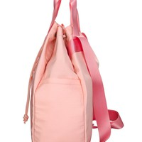 new stylish light weight drawstring backpack for girl