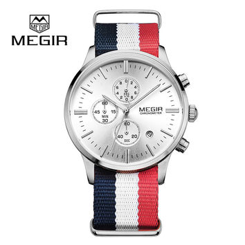 Mens Brand Luxury Fashion Business Watch Quartz-Watch and Waterproof Chronograph