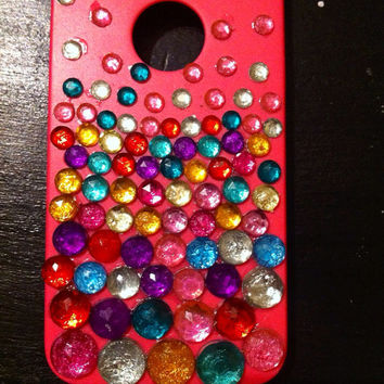 Iphone 4/4s bedazzled case