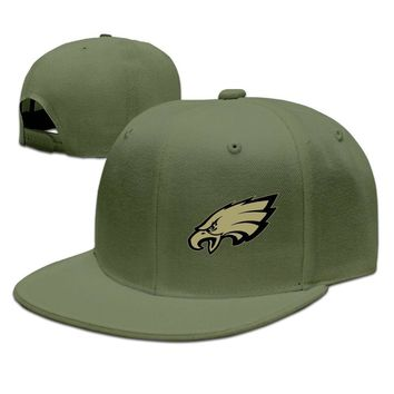 Philadelphia Eagles Salute To Service Logo Printing Unisex Adult Womens Snapback Caps Mens Flat Brim Hats