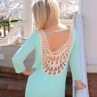 Summer Brights dress, mint