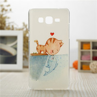 Samsung Galaxy Hard PC Plastic Cases Back Phone Cover Case Grand Prime G530 G530H G5308W cases