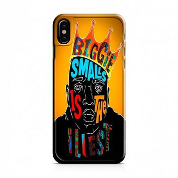 Biggie Cover iPhone X Case