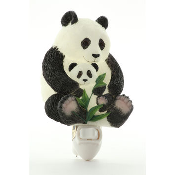 Panda Night Light, Ibis & Orchid Nightlights, NIB, 50087