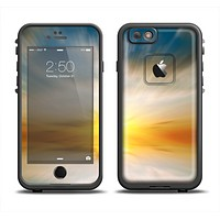The Bright Blurred Sunset Apple iPhone 6 LifeProof Fre Case Skin Set