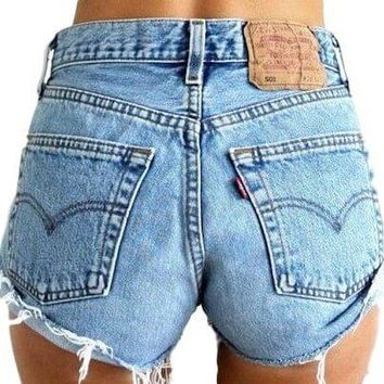 Mystery DISTRESSED High Waisted Shorts, All Sizes & Plus!