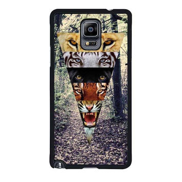 tiger eyes design samsung galaxy note 4 note 3 cover cases