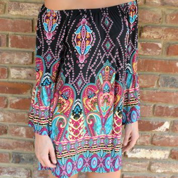 Exotic Summer Holiday Vacation Ethnic Style Summer Beach Dress