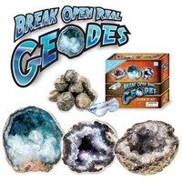Discover with Dr. Cool Explorer Geode Science Kit, Set of 6