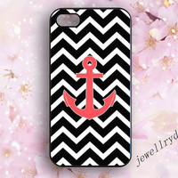 Anchor iPhone 5s Case,Nautical iPhone 4/4s Case,Navy Striped iPhone 5 5c Case,personalized chevron iphone case,samsung galaxy  s3 s4 s5 case