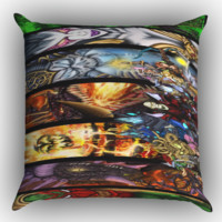 World of Warcraft Art To Device X0904 Zippered Pillows  Covers 16x16, 18x18, 20x20 Inches