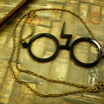 Harry Potter Scar Glasses by SixAstray on Etsy