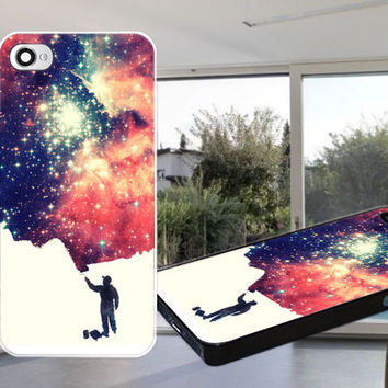 Painting the universe Case for iPhone 4,iPhone 4S,iPhone 5,iPhone 5S,iPhone 5C,Samsung Galaxy S2 / S3 / S4
