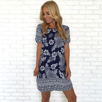 Sarasota Floral Shift Dress