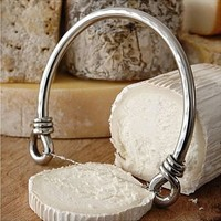 stainless steel cheese wire by lily and lime home | notonthehighstreet.com