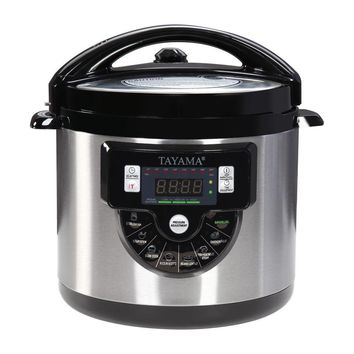 Tayama 8-in-1 Multi-Function Pressure Cooker - 6 Qt. Stainless Steel Pot (TMC-60SS)
