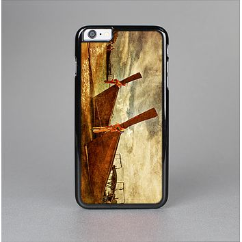 The Vintage Boats Beach Scene Skin-Sert Case for the Apple iPhone 6 Plus