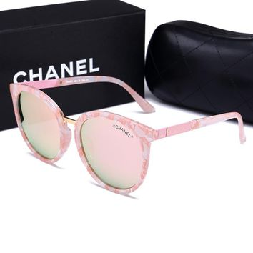 CHANEL Women Fashion Shades Eyeglasses Glasses Sunglasses