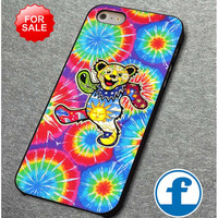 The Grateful Dead Dancing Bear Tie Dye for iphone, ipod, samsung galaxy, HTC and Nexus Phone Case