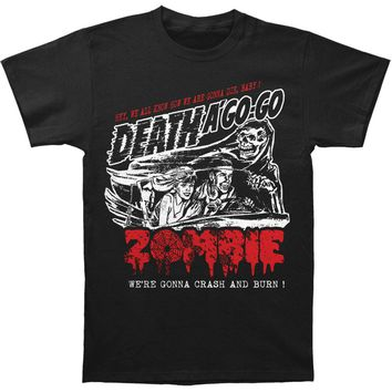 Rob Zombie Men's  Zombie Crash T-shirt Black