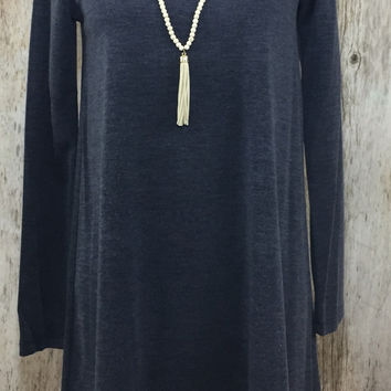 Warm Embrace Sweater Dress