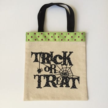Trick or treat bag, Halloween bag