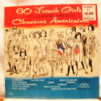 Amazing 60 French Girls LES DJINNS Singers Chansons Americaines 1963  Vinyl Record LP 33 Sealed
